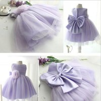 Wholesale adorable baby clothing for sale - Group buy adorable toddler baby girls party dress high quality kids lavender mesh vest tutu dress m y children clothes summer T200709