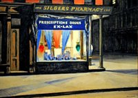 Wholesale home decors stores resale online - Edward Hopper Store Home Decor Handpainted HD Print Oil Painting On Canvas Wall Art Canvas Pictures