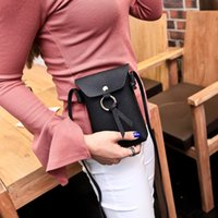 Wholesale freeshipping bags low prices for sale - Group buy Low price Korean style women s new litchi letterage envelope single shoulder mobile phone crossbody bag mobile phone bag mini
