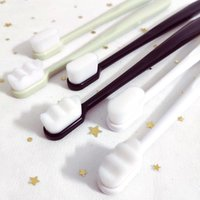Adults Toothbrush Soft-bristle Toothbrush Couples Toothbrush Soft Bristle Oral Care Health Tools