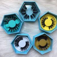 Wholesale line papers resale online - Transparent Paper Lines Eyelash Case Mounting Box False Eyelashes Boxes Bottom Tray