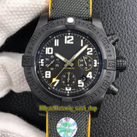 Wholesale mens eta movement resale online - GF hurricane series MM Breitlight Case XB0170E4 Black Dial ETA A7750 Automatic Chronograph Movement Mens Watch Sapphire Stopwatch Watches