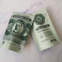 3.5 grams Garrison Lane mylar Bags Flavors Billy Kimber Childproof Stand Up Pouch bag Dry Herb Flowers Smell Proof Packaging