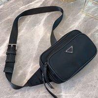 Wholesale cell phone fanny pack resale online - Lady Waist Bag Women Fanny Pack Wide Shoulder Strap Shoulder Bag Purse Nylon Plain Classic Letter Coin Purse Zipper