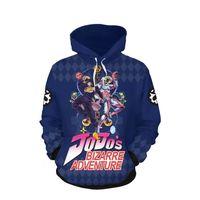 Wholesale video games characters resale online - New jojo Jacket zipper bizarre adventure classic animation video game character jacket zipper animation peripheral