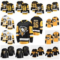 patric hornqvist jersey  al por mayor-Pittsburgh Penguins 2020 Sidney Crosby Kris Letang Jason Patric Zucker Evgeni Malkin Hornqvist Murray Lafferty Jarry Marleau Jersey