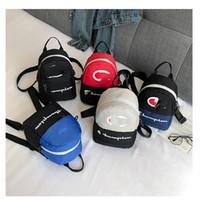 Wholesale mini sport bag for sale - Group buy Unisex Champions Letter Backpacks Mini Sports Travel Shoulder Bags Women Girls Crossbody Chest Waist bag Fanny Packs Rucksack C3194