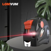 Wholesale metric tape measures for sale - Group buy LOMVUM Rechargeable Laser Tape Measure in USB Charging Tape with LCD Display FT M Digital Tape Metric Inches Ft T200602