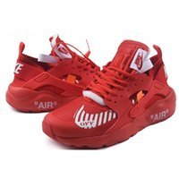Wholesale air huaraches sneakers for sale - Group buy 2020 Huarache ULTRA IV off Classical Triple White Black red Running Shoes for mens womens Huaraches sports Sneaker trainers size