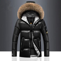 Wholesale black mens hats for sale - Group buy Brand Winter Men s Coats Warm Thick Male Jackets Windproof Fur Hooded Parkas Men Overcoats Mens Outwear Clothing XL