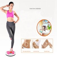 Wholesale twister plate fitness resale online - Fitness Massage Twister Plate Magnet Waist Wriggling Waist Twisting Disk Twist Board Women s Home Fitness Sports Machine FY6256