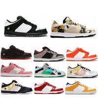 Wholesale skates shoes resale online - Dunk SB Low Pro QS Chunky Dunky Freddy Krueger Men Women Running Shoes Paris StrangeLove Staple x panda pigeon Muslin Skate Sports Sneakers