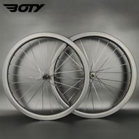 Full carbon wheels Super light 700C 38mm depth 25mm width Clincher Tubeless Tubular Road disc brake bike wheelset UD matte finish