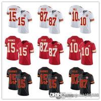 Wholesale chiefs jersey resale online - Men Women Youth Kansas City Chiefs Jersey Patrick Mahomes Travis Kelce Tyreek Hill Football Jerseys Red Black Rush