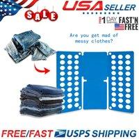 Wholesale clothes folder board resale online - Adjustable T Shirt Clothes Fast Folder Folding Board Laundry Organizer For Adult