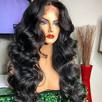 Wholesale wave making machines for sale - Group buy 2020 HD Transparent Lace Front Human Hair Wigs Full Lace Wig Pre Plucked Brazilian Body Wave Lace Frontal Wig With Baby Hair Remy
