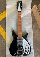Wholesale signature guitars for sale for sale - Group buy Hot sale super seller John lennon verion rickenback version guitar tremolo version black color with signature