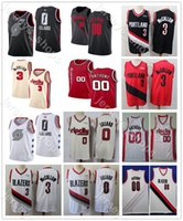Wholesale jersey city kids for sale - Group buy Men Youth Kid News Hot City Mens Edition PortlandTrailBlazers Damian Lillard C J McCollum Basketball Jersey Carmelo Anthony Stitched