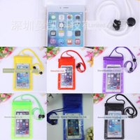 Wholesale swimming electronics resale online - QjfAn Transparent mobile Camera bag phone waterproof bag spring and summer swimming artifact mobile phone camera electronic product waterpro