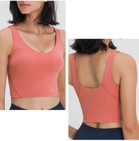 Wholesale woman s sports tank for sale - Group buy yoga canada sexy women sport align tank yoga vest gym fitness tank top yoga running jogging vest tops yogaworld