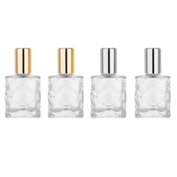 Wholesale perfume bottles cosmetic containers resale online - MUB Portable Mini ml Glass Steel Roll on Essential Oil Bottle Travel Perfume Bottles Empty Cosmetic Containers Roller Bottle