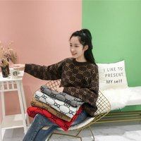 Wholesale womens neck warmers resale online - 2020 Womens Sweater Casual Fashion Sweater Size S XL Comfortable Warm sherpa pullover lucky03 ilucky Luxus Pullover sweat luxe