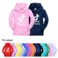 Wholesale baby boy white hoodie for sale - Group buy TIK TOK Children s Hooded Pocket Hoodie Boys and Girls Casual Pockets Hooded Long Sleeve Top Baby Kids Clothing