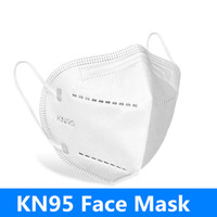 Wholesale kn95 face mask filter mask layer non woven Anti Dust and Smoke and Allergies face masks independent packagin DHL Stock n95