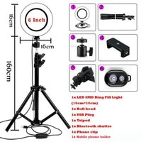 Wholesale phone holder for video for sale – best top live photo LED Ring Light Photo Studio Camera Light Photography Dimmable Video light for Youtube Makeup Selfie with Tripod Phone Holder