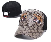 erkekler için yazlık kapaklar toptan satış-Gucci Hot Popular Fashion Summer outdoors Baseball Men Women Hip Hop Snapback bone Golf visor Sport Cap Cheap Adjustable Caps