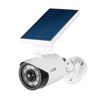 Wholesale imitation cameras for sale - Group buy Solar Light Dummy CCTV Surveillance Camera Motion Sensor Waterproof Outdoor False Fake Security Bullet Imitation Camera T191213