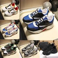Wholesale retro trainers men resale online - 2020 Fashion B22 B24 Casual Shoes Men Women Canvas And Calfskin Trainers Quality Unisex Low Top Flat Canvas Sneaker Retro Patchwork Sneakers