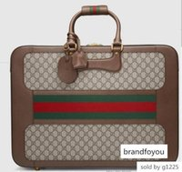 Wholesale web toys resale online - Suitcase With Web Men Messenger Bags Shoulder Belt Bag Totes Portfolio Briefcases Duffle Luggage