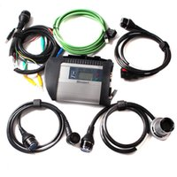 Wholesale Full Chip MB STAR C4 SD Connect Compact C4 top quality Mb star Multiplexer Diagnostic Tool with WIFI For Car truck