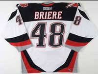 Wholesale hockey jersey size 48 resale online - Custom Men Youth women Vintage DANIEL BRIERE Buffalo Sabres CCM Hockey Jersey Size S XL or custom any name or number