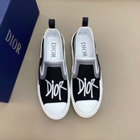 Wholesale designer shoes men's resale online - Brand Chaussures lujos Men s casual shoes thick soled small white shoes embroidery printing tide shoe Brand Designer casual shoes RD094