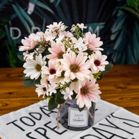 Wholesale asters flowers for sale - Group buy Artificial Fake Artificial Fake Flowers NetNetherlands Chrysanthemum Heads Aster novi belgii Flower for Store Home Decor