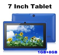 Wholesale tablet 8gb dual resale online - 2020 Q88tablets wifi inch GB RAM GB ROM Allwinner A33 Quad Core Android Capacitive Tablet PC Dual Camera facebook