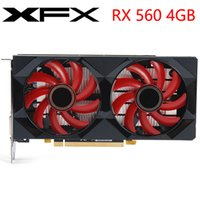 Wholesale nvidia graphics card for sale - Group buy XFX Video Card RX GB Bit GDDR5 D Graphics Cards for AMD series VGA RX560 Used