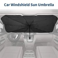 Foldable Car Sun Umbrella Block Heat UV Sun Shade Umbrella for Windshield Protection Block Heat UV Easy to Use Dropshipping
