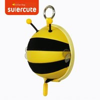 Wholesale new product key for sale - Group buy New product cute coming bee coin purse card case case Card key bag creative cute cartoon bee style key bag