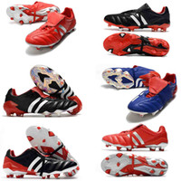 Wholesale shoes soccer resale online - 2020 top Best Quality Soccer Shoes Copa FG Football Boots Mens predator mania Copa crampons Soccer Cleats PREDATOR MANIA Champagne