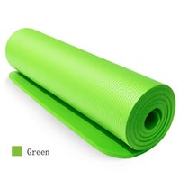 Wholesale yoga for beginners for sale - Group buy High density Eco friendly large NBR custom yoga mat pilates mats for exercise with strap or tote bag