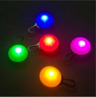 Wholesale led dog collar pendant lights resale online - LED Light Dog Glow Collar Pendant Dog Night Out Security Flashlight Cat Dog Outdoor Collars Festival Holiday Necklace Luminous Decor DHC96