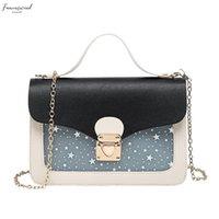 Wholesale mini elegant clutch bags resale online - Women Mini Small Square Pack Elegant Shoulder Bag Fashion Star Sequin Designer Messenger Crossbody Bag Clutch Wallet Handbags