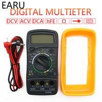 Wholesale ac voltage tester resale online - Portable Digital Multimeter Backlight AC DC Ammeter Voltmeter Ohm Tester Meter XL830L Handheld LCD Multimetro Voltage Current