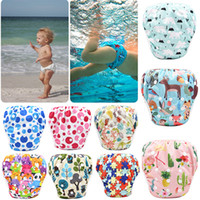 Wholesale size diaper for sale - Group buy Unisex free Size Waterproof Adjustable Swim Diaper Pool Pant Swim Diaper Baby Reusable Washable Pool Diaper Color M051A