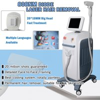 Wholesale beauty shooting resale online - 808nm laser diode hair removal laser machines permanent hair remover w for nm diode laser hair removal beauty machine millions shot