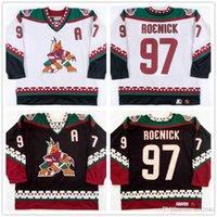 Wholesale Custom Vintage Jeremy Roenick Coyotes Shane Doan Keith Tkachuk Tony Amonte Black Hockey Jerseys Stitched CCM Any Name Your Number