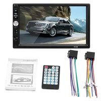 Wholesale dash mp3 player resale online - 2 Din Car DVD HD In Dash Touch Screen BluetoothCar Radio Player Stereo USB Touch Screen Car MP5 MP3 DHL